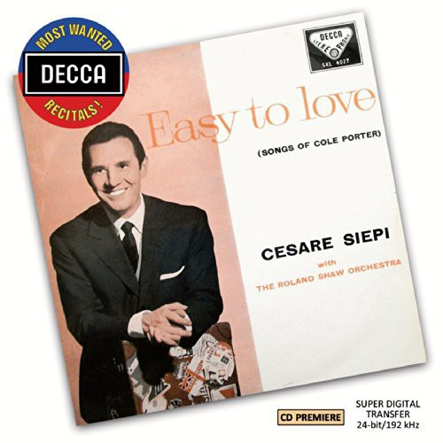 Most Wanted Recitals: Cesare Siepi - Easy to Love