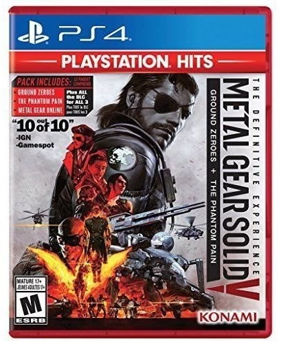 Ps4 Metal Gear Solid V the Definitive Experience - Metal Gear Solid V The Definitive Experience - Pla