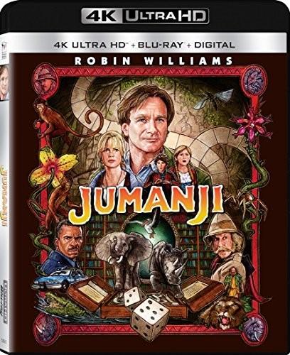 Jumanji [UltraViolet] [4K Ultra HD Blu-ray] [2 Discs]