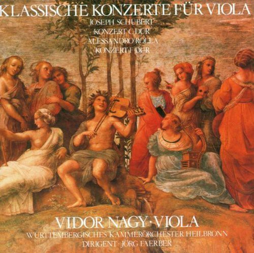 Classical Concertos for Viola & Orchestra