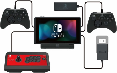 - HORI Multiport USB Stand for Nintendo Switch