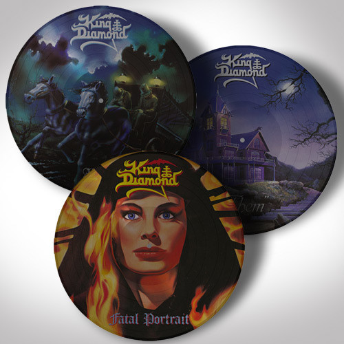 King Diamond LP Bundle