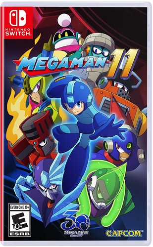 Swi Mega Man 11 - Mega Man 11 for Nintendo Switch
