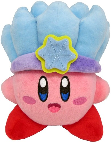 "- Little Buddy Kirby Adventure Kirby 5"" Ice Plush"