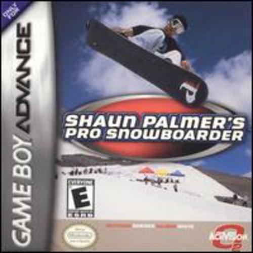 Shaun Palmer's Pro Snowboarder for Gameboy Advanced