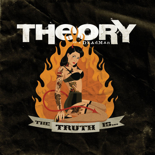 Theory Of A Deadman - Truth Is... [Colored Vinyl] (Ofgv) (Org)
