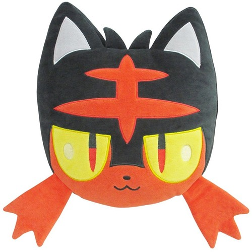 "Sanei Pokemon - 13 Litten Cushion Plush - Sanei Pokemon - 13"" Litten Cushion Plush"