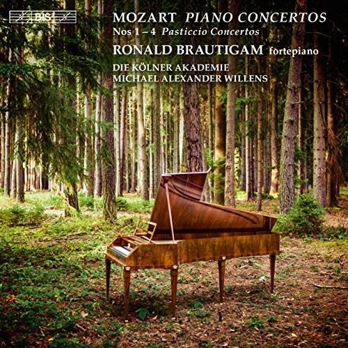 Mozart: Piano Concertos Nos. 1-4 Pasticcio Concertos