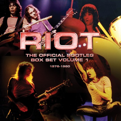 Riot – The Official Bootleg Box Set Volume 1 – 1976-1980 [Import]