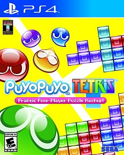 Ps4 Puyo Puyo Tetris - Puyo Puyo Tetris for PlayStation 4
