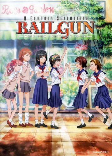 A Certain Scientific Railgun Season 1 Pt 2