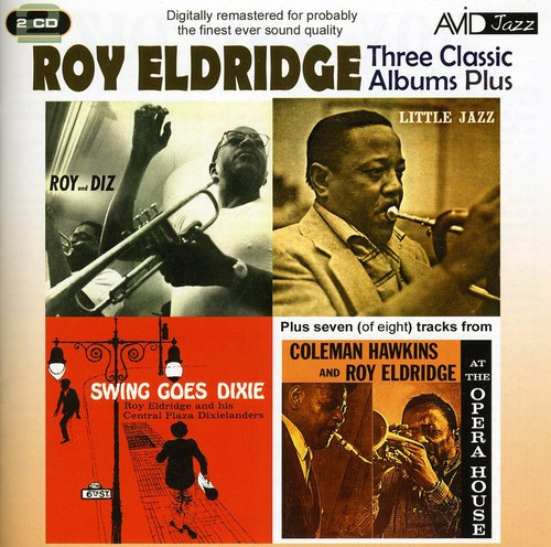 3 Classic LPs-Roy and Diz/ Little Jazz/ Swing Goes Dixie