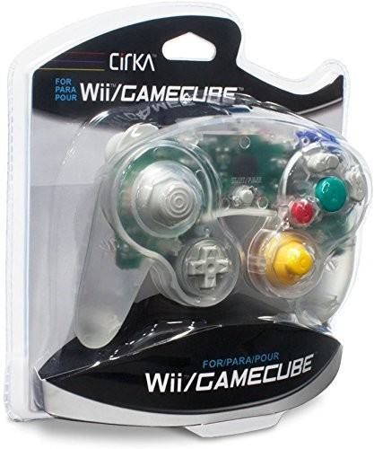 - CirKa Controller - Clear for Nintendo Wii and GameCube