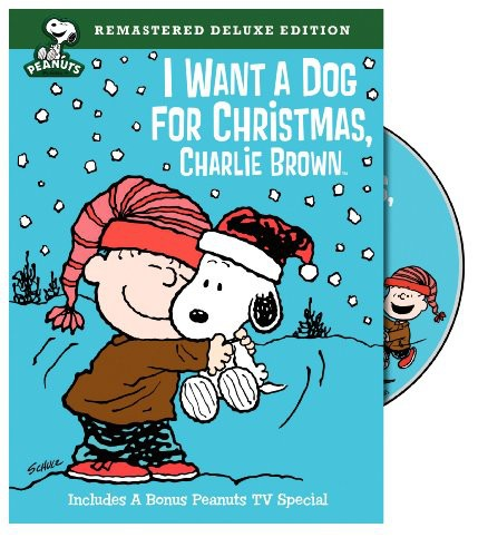 I Want a Dog for Christmas Charlie Brown