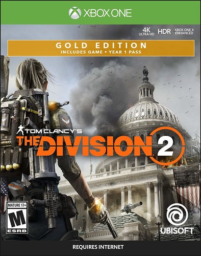- Tom Clancy's The Division 2 - Gold Steelbook Editi
