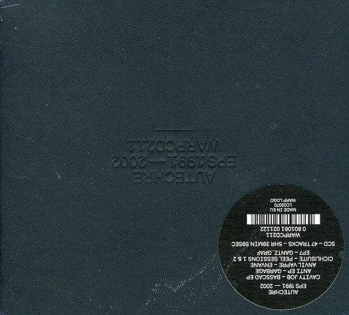 Autechre - EPs 1991-2002