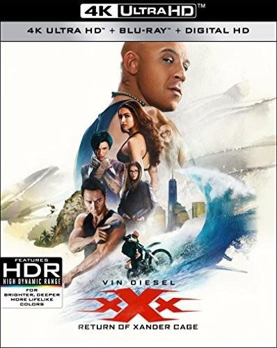 xXx: Return of Xander Cage [4K Ultra HD Blu-ray/Blu-ray]