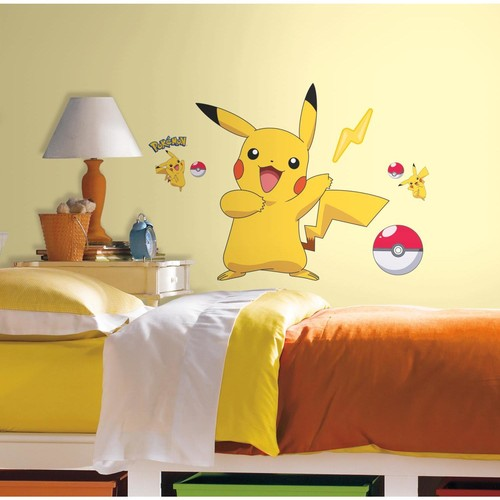 Pokemon Pikachu Gnt Wall Decal - Pokemon Pikachu Gnt Wall Decal