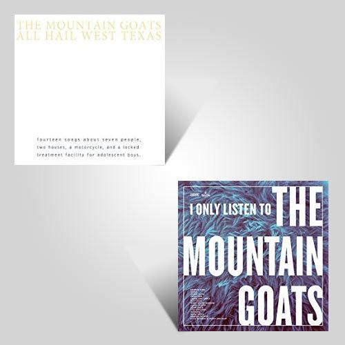 Mountain Goats Lp Bundle