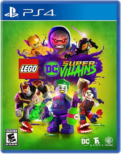 - LEGO DC Supervillains for PlayStation 4