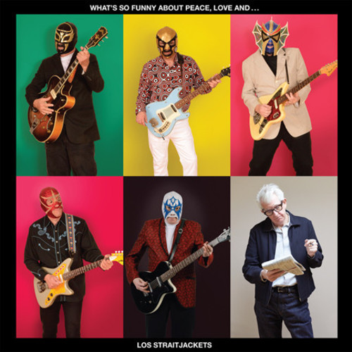 Los Straitjackets - What's So Funny About Peace, Love And Los Straitjackets [LP]