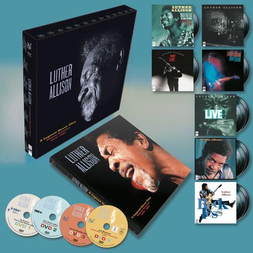 Luther Allison - A Legend Never Dies: Essential Recordings 1976-1997 [Deluxe LP Box Set]
