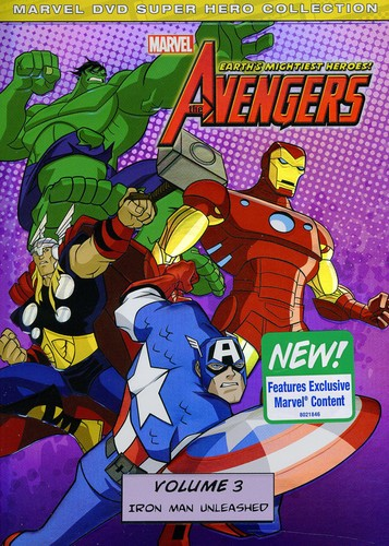 Marvel's The Avengers [Animated] - The Avengers: Volume 3 - Iron Man Unleashed