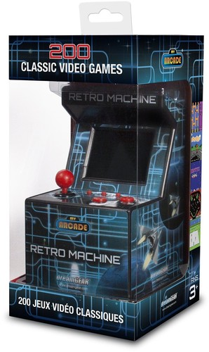 - My Arcade Retro Arcade Machine: Portable Gaming Mini Arcade Cabinet
