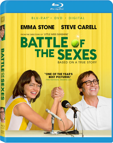 Battle of the Sexes [Blu-ray/DVD]