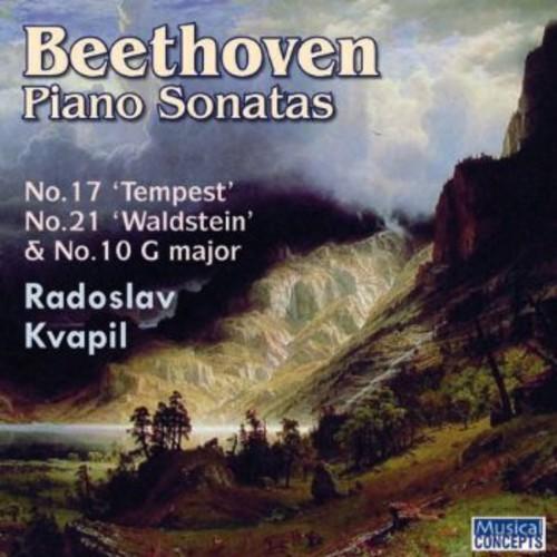Radoslav Kvapil - Piano Sonatas Nos 10 17 & 21