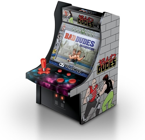 - My Arcade Bad Dudes Micro Arcade Machine