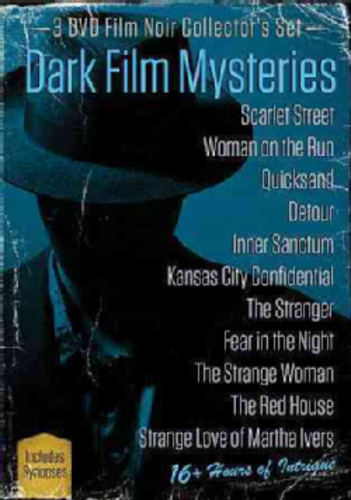 Dark Film Mysteries (3 DVD Film Noir Collector's Set)
