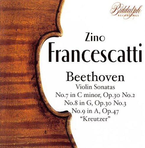 Zino Francescatti Plays Beethoven Sonatas