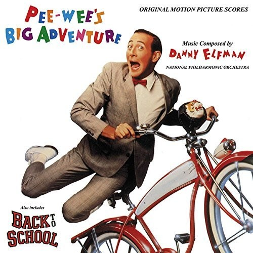 Pee-wee's Big Adventure /  Back to School (Original Motion Picture Scores) , Danny Elfman