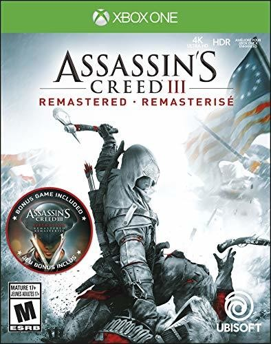 - Assassin's Creed III: Remastered for Xbox One
