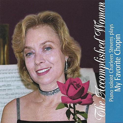 Accomplished Woman Piano Soloist Charleen Stevens