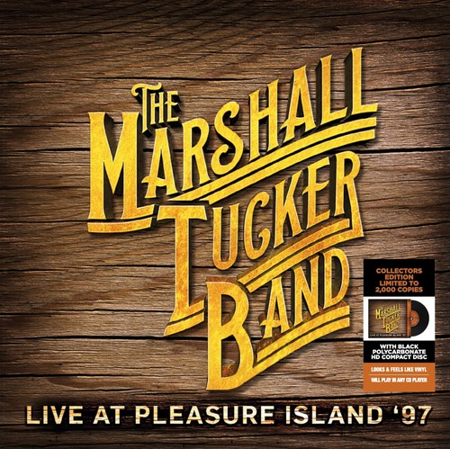 Marshall Turker Band - Live At Pleasure Island