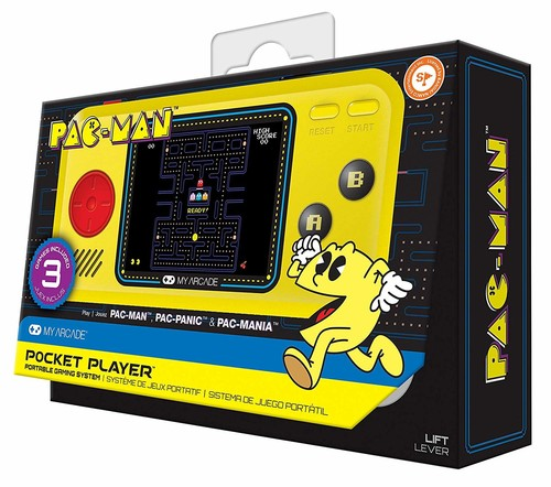 - My Arcade Pac-Mac Pocket Player