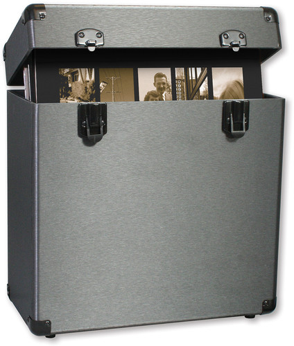 VINYL STYL GROOVE RECORD CARRYING CASE (GRAPHITE)