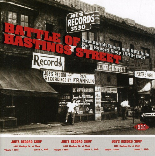 Battle Of Hastings Street-Raw Detroit Blues and R&B From Joe's RecordShop 1953-1954 [Import]