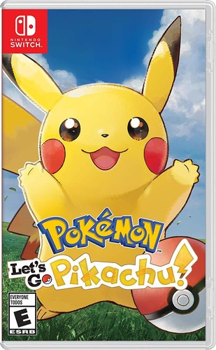 Swi Pokemon Let's Go Pikachu - Pokemon Let's Go Pikachu for Nintendo Switch
