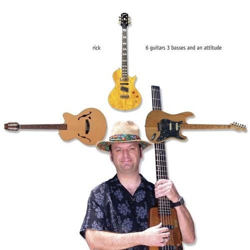 6 Guitars 3 Basses & An Attitude