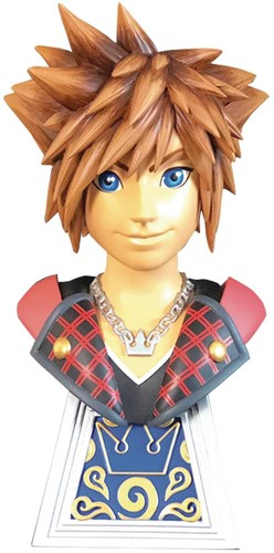 Diamond Select - Legends In 3D Kingdom Hearts 3 Sora 1/2 Scale Bust