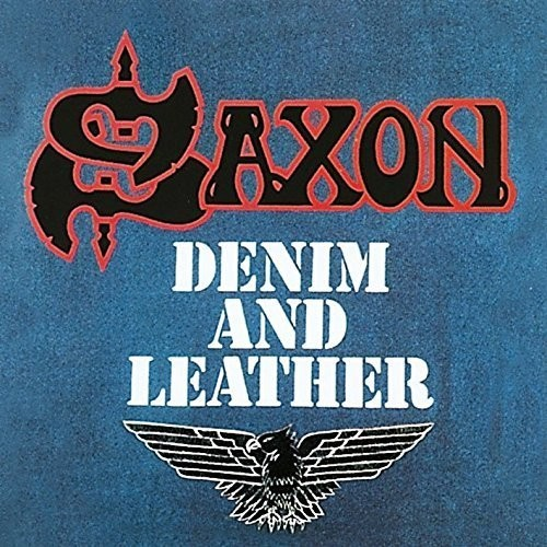 Saxon - Denim And Leather: Remastered [Limited Edition Blue & White LP]