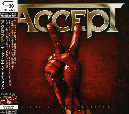Accept - Blood Of The Nations (Shm-Cd) [Import]