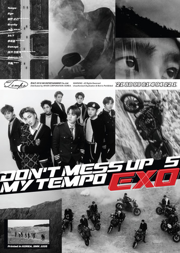 Exo - EXO The 5th Album 'DON'T MESS UP MY TEMPO' (Allegro Ver.) [Import]