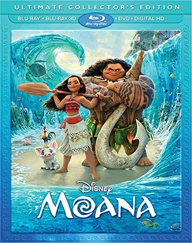 Moana [Blu-ray 3D+Blu-ray+DVD+Digital HD]