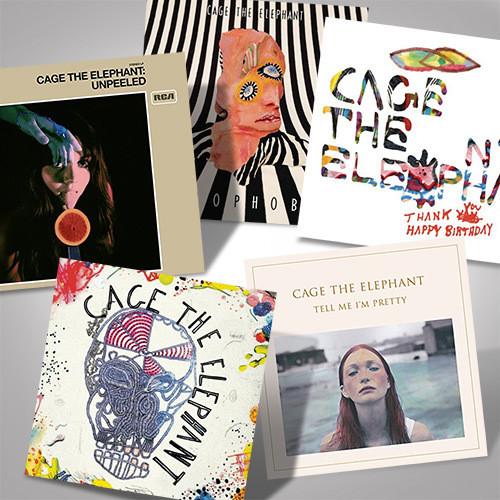 The Cage The Elephant Complete Studio Albums Vinyl Bundle