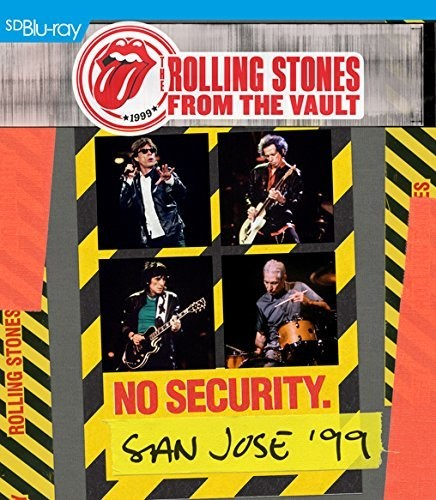 The Rolling Stones - From The Vault: No Security. San Jose '99 [Import Blu-ray+2CD]
