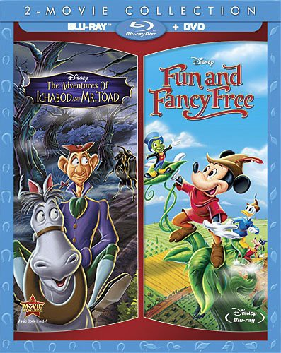 The Adventures of Ichabod and Mr. Toad /  Fun and Fancy Free
